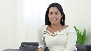 Hungarian hottie hot to trot for cock