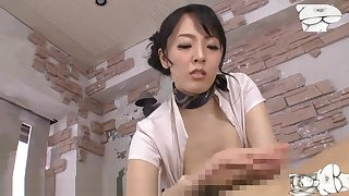 Busty asian tit fuck massage