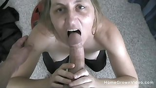 Slutty pretty good mature is attainable for her first homemade sex tape!