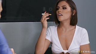 After a blowjob horny Adriana Chechik is be prepared estimated anal sex