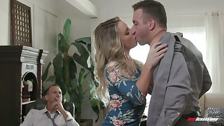 Abnormal boss invites handsome employee all over fuck naughty wife Kate Kennedy