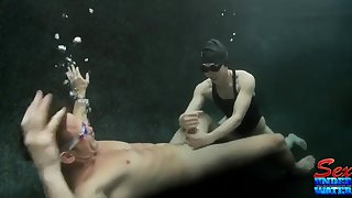 Crazy undersea sex with Asian Assain babe